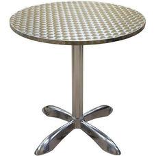 Round Aluminum Indoor Table