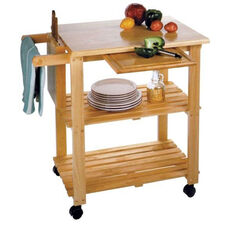 Utility Cart with Cutting Board