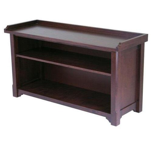 Milan Bench with Storage Shelf