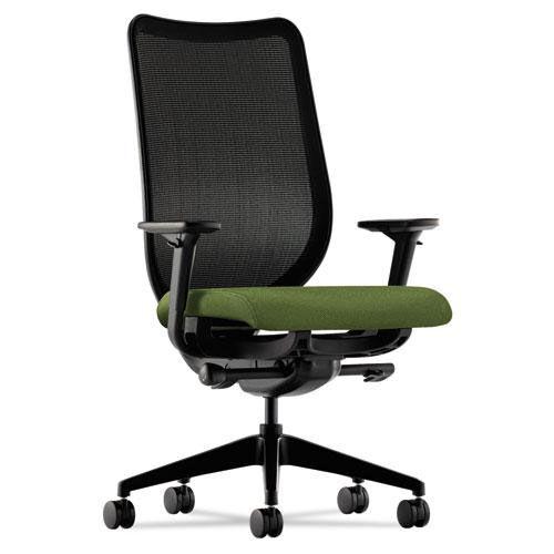 HON® Nucleus Series Work Chair - Black ilira-stretch M4 Back - Clover Seat