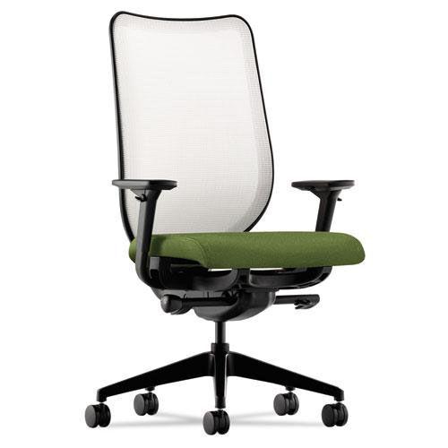 HON® Nucleus Series Work Chair - Fog ilira-stretch M4 Back - Clover Seat