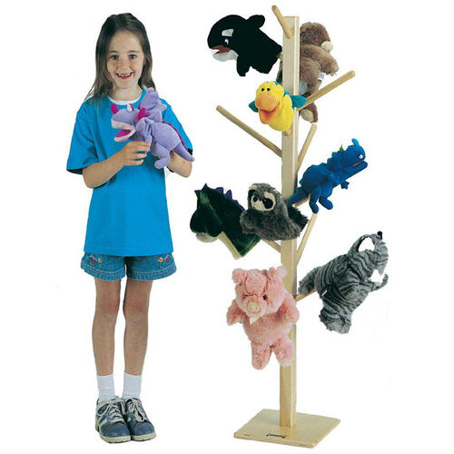 Puppet Tree - 13 Storage Pegs