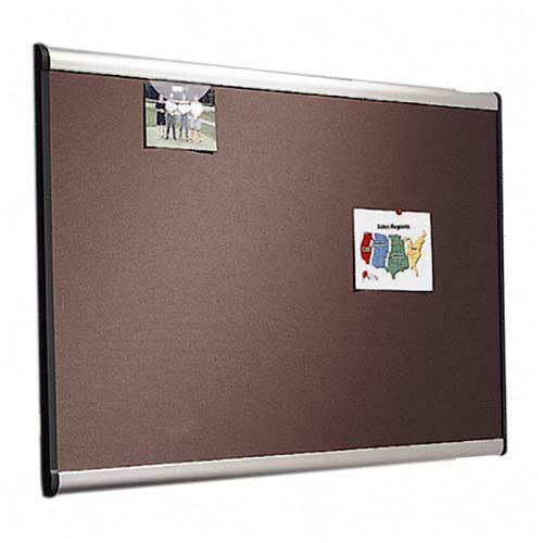 Quartet Tight Weave Fabric Board - 3' x 2' - Aluminum Frame