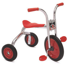 Silver Rider 12'' Trike with Spokeless Solid Rubber Wheels - Red