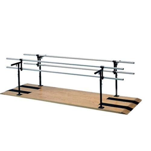 Combination Adult-Child Parallel Bars - 28''W X 120''L X 29 - 42''H