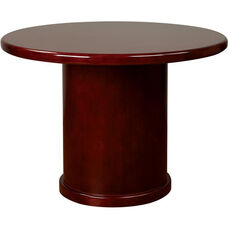 OSP Furniture Sonoma Wood Round Table - Cherry