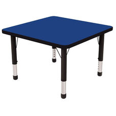 30''W x 30''D Square Activity Table with Laminate Table Top and Height Adjustable Legs