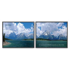Advantus Goals Panorama Framed Prints Pack - Pack Of 2