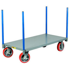 Pipe Stake Truck With 8'' Polyurethane Wheels - 30''W x 60''D