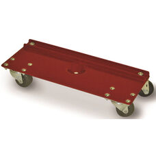All Purpose Steel Frame Rectangular Dolly with Casters - 550 lb. Capacity