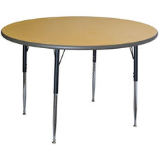 Round Activity Table with Laminate Top and Phenolic Backer