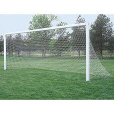 Club Plus Aluminum Permanent/Semi-Permanent In-Ground Soccer Goal
