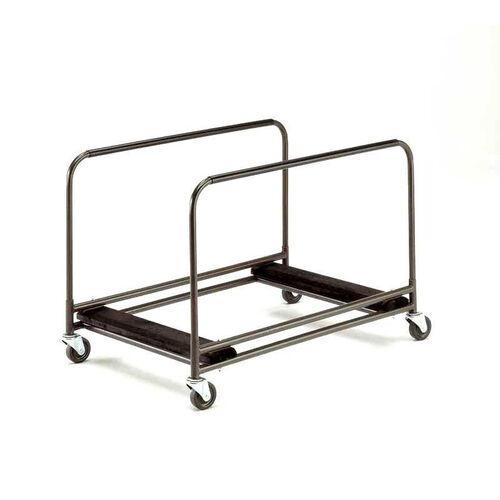 Standard Duty Rectangular/Serpentine Edge Table Caddy with Swivel Stem Casters - 31.25''W x 49''L x 32.25''H