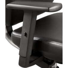 Adjustable Height T-Pad Armrest Set for Sol™ Office and Desk Chairs - Black