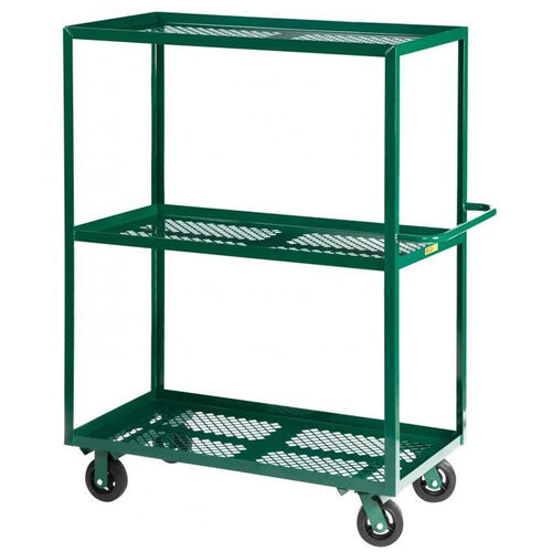 Nursery Welded Truck with 3 Perforated Shelves - 24''W x 48''D