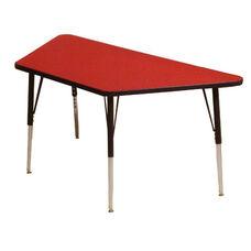 Adjustable Height Trapezoid 1.125'' Table