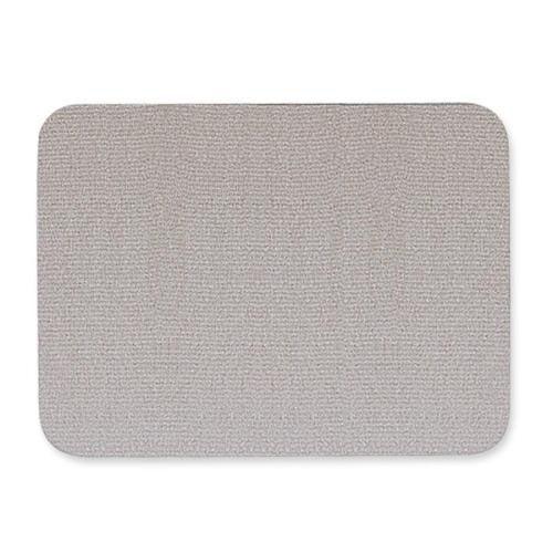 Quartet Oval Fabric Bulletin Board - 4' x 3' - Gray