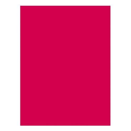 Pacon Construction Paper - 76 lb. - 9'' x 12'' - 50/PK - Holiday Red