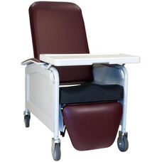 Lifecare Recliner with Saddle Seat - 3 Positions