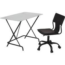 OSP Designs 2-Piece Desk and Chair Set