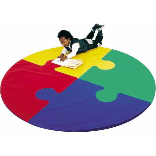 Soft Circle Puzzle Mat