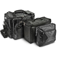 Zippered Business Case with Cooler Bag and One Tablet Case - Black and Gray