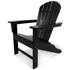 POLYWOOD® South Beach Adirondack - Black