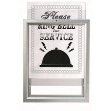 Insta Frame Removable Sign and Poster System - 11''H x 8.5''W