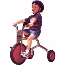 Silver Rider 14'' Trike with Spokeless Solid Rubber Wheels - Red