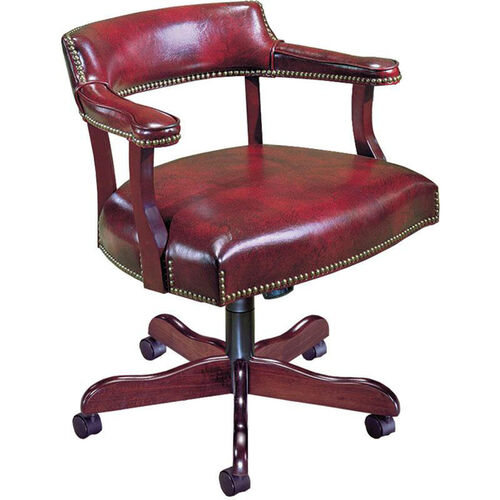 Quick Ship Traditional Series Captain's Management Chair