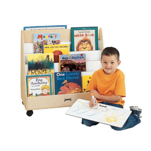 Mobile Pick-A-Book Stand - 1 Sided