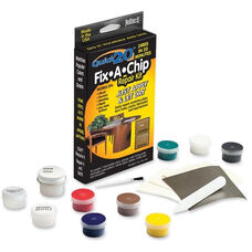 Master Caster Fix-A-Chip Surface Repair Kit with Intermixable Colors - Assorted Colors