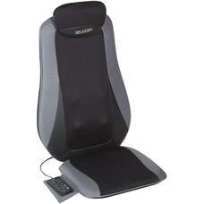 Relaxzen Shiatsu and Tapping Massage Cushion - Gray and Black