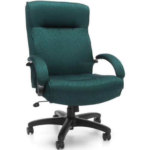 Big & Tall Executive High-Back Chair - Teal