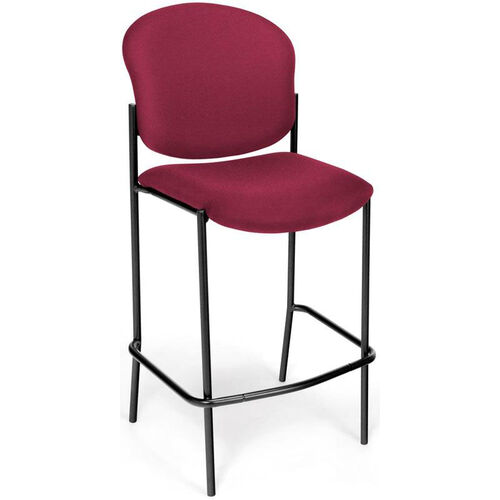 Manor Cafe Height Chair - Wine Fabric