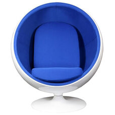 The Kaddur Chair in Blue