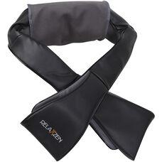 Relaxzen Neck and Shoulder Shiatsu Massager with Heat - Black