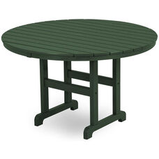 POLYWOOD® Round 48'' Dining Table - Green