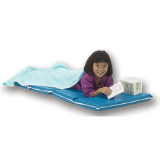 Vinyl 1'' Thick Foldable Heavy-Duty Rest Mat - Blue and Teal