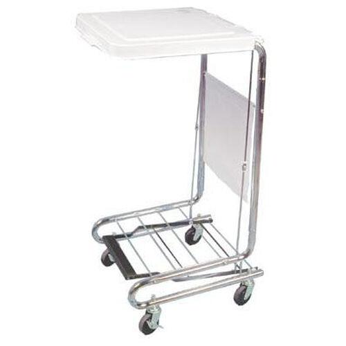 Mobile Hamper Stand - 18''W X 19.5''L X 38''H