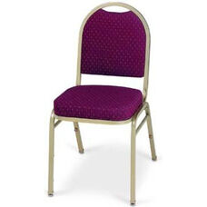 Prestige Banquet Stack Chair with Waterfall Style Seat - Open Back