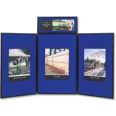 Quartet Show-It! 3-Panel Exhibition Display System