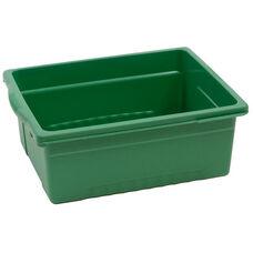 Royal Large Open Environmentally Friendly Tough Plastic Tub - Green - 15.63''W x 12.56''D x 6''H