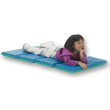 Vinyl 1'' Thick Foldable DayDreamer Rest Mat - Blue and Teal