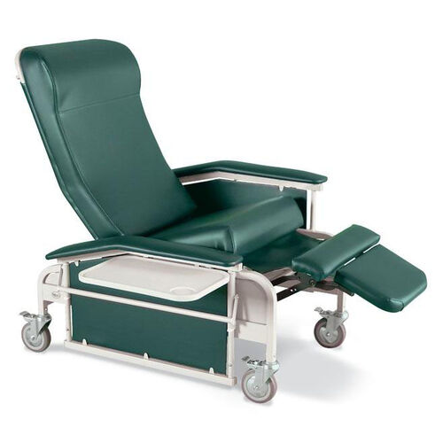 Drop Arm Care Cliner Steel Casters