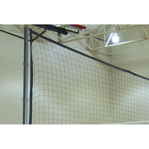 Portable Divider Net with Storage Bag and Pole Attachment Hardware - 50'W x 12'H