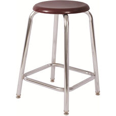 Tubular Fully Welded Stool with Footring - 18''H
