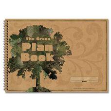 Carson-Dellosa Publishing Green Plan Book - 96 Pages - 9 -1/4'' x 13''
