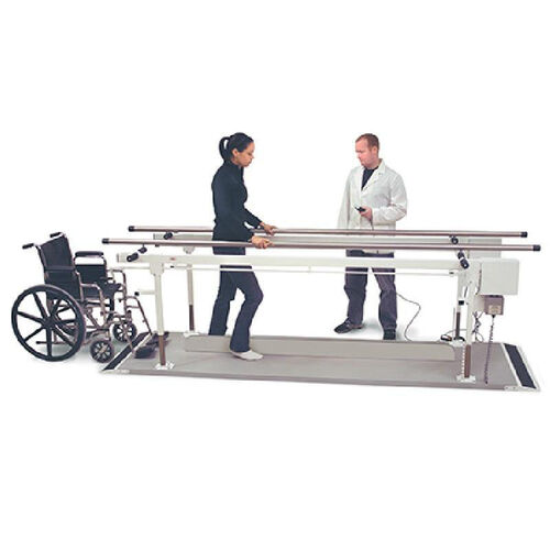 Power Height Parallel Bars - 27''W X 120''L X 27 - 37''H