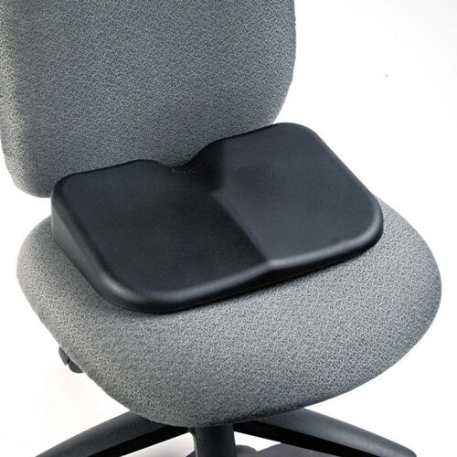 Safco® Softspot Seat Cushion - 15-1/2w x 10d x 3h - Black